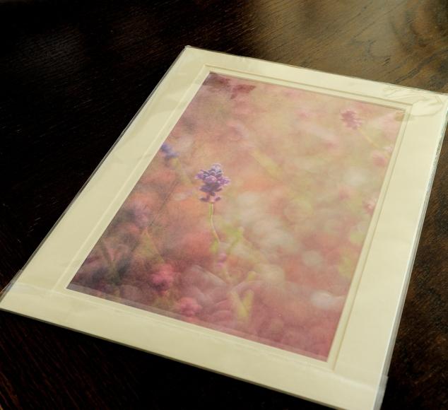 Lavender print small