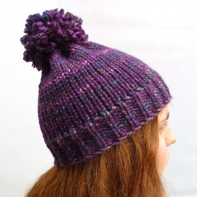 Chunky bobble hat
