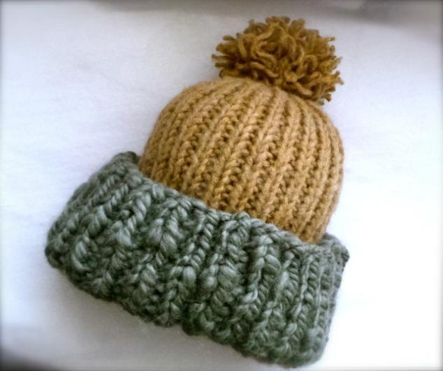 Chunky bobble hat1