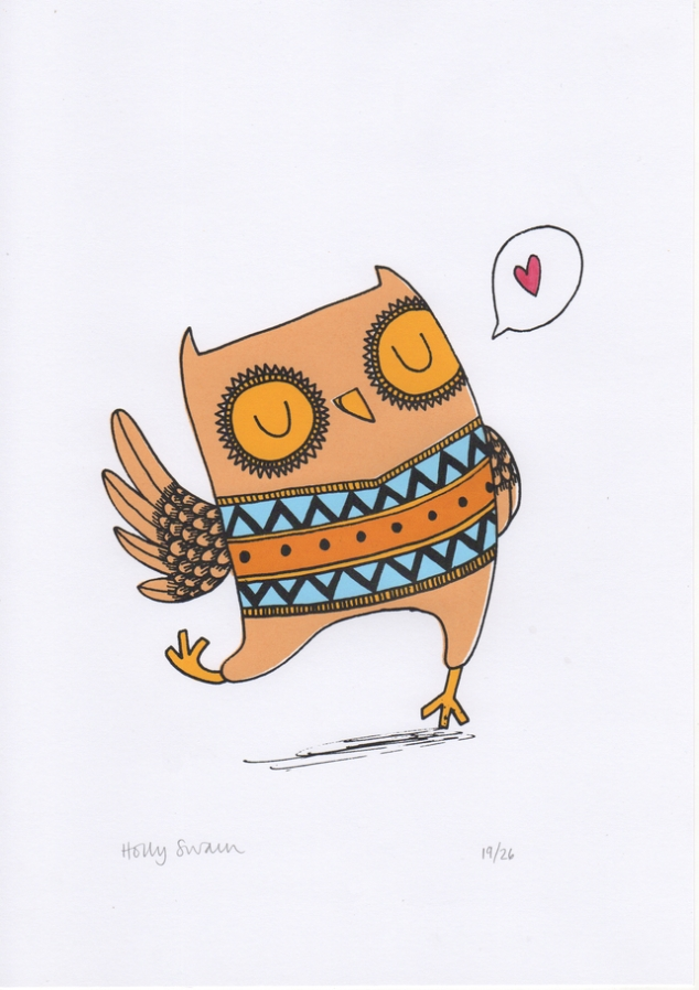Happy Little Owl
