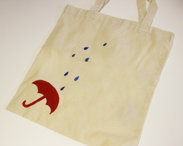 Umbrella and Rain Eco Bag