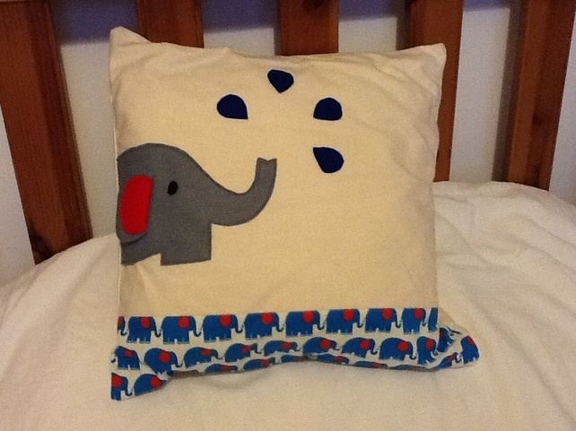 Funky Elephant Cushion