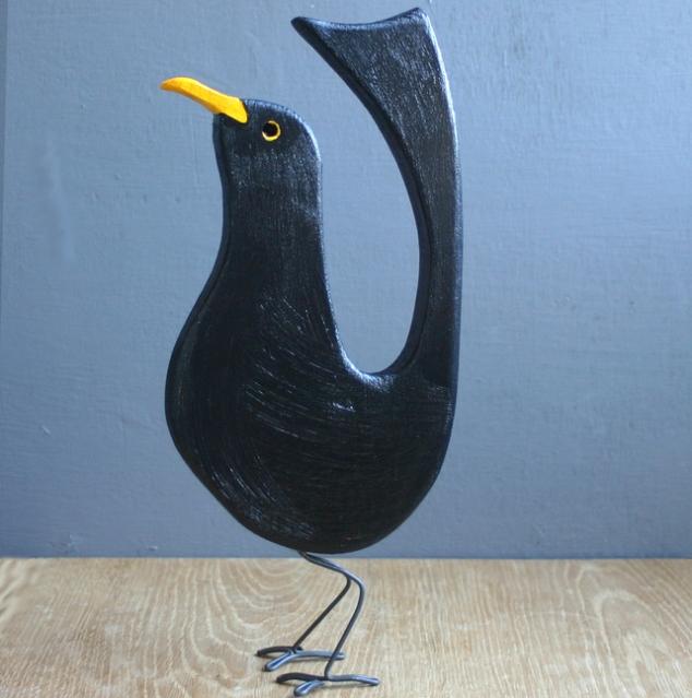 Reclaimed Wooden Bird