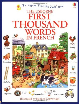 3 First thousand words in french